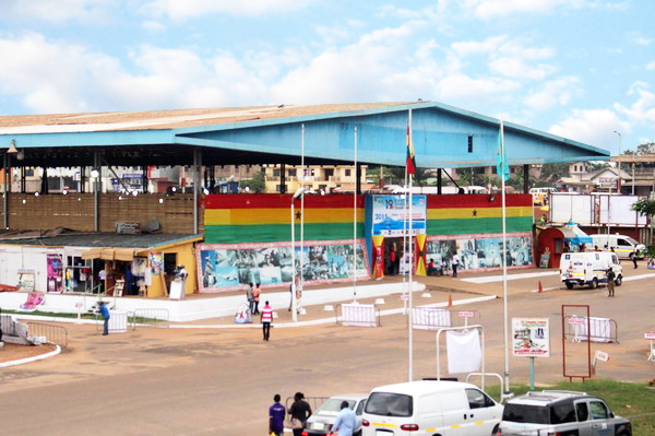 Pavilion A; Front View Entrance