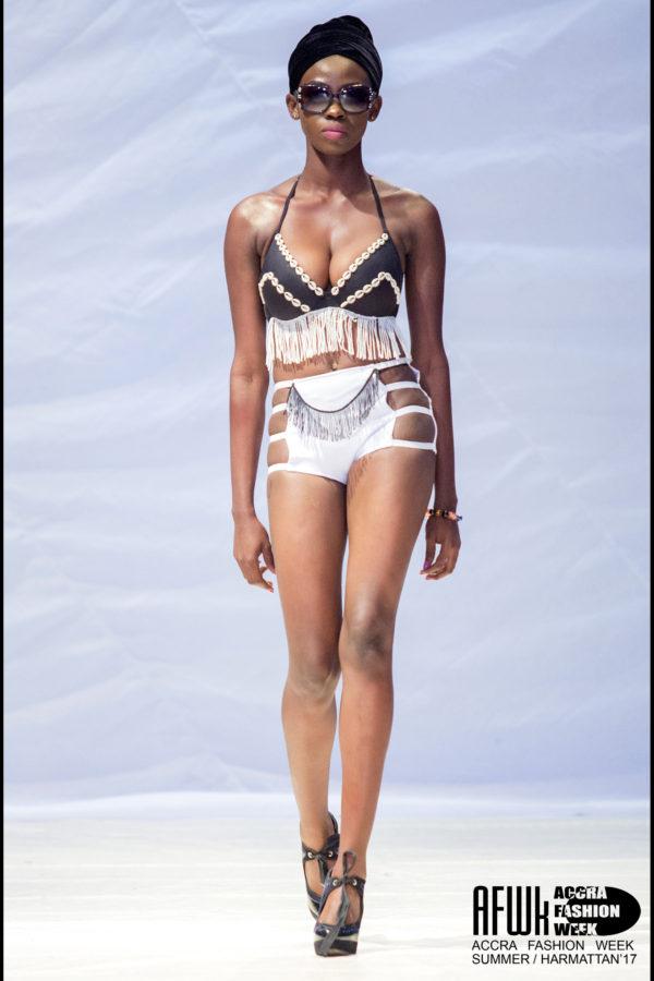 Bri Wireduah Cowry Shell Fringe Bikini