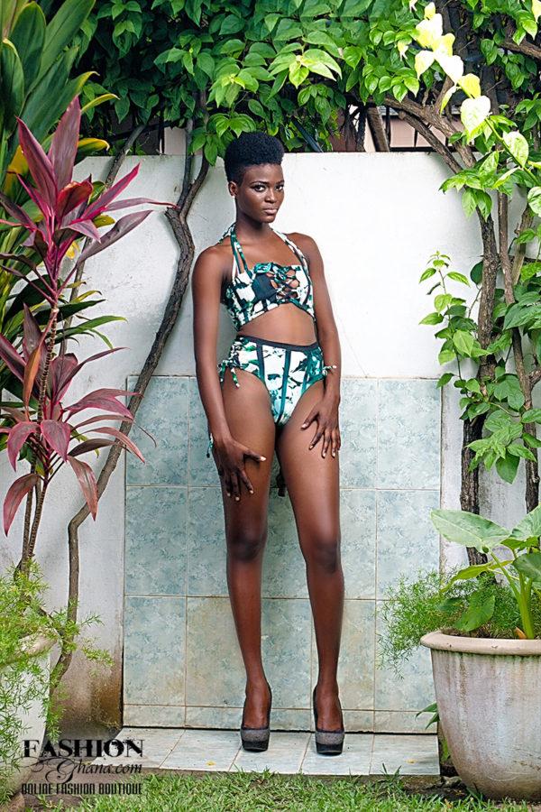 DEJACK Clothing Strapped Bikini