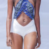 Bri Wireduah One Piece Cross Over Swimsuit