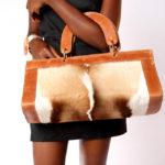 Fur Duffel Bag