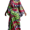 Mikoko Batwing Kaftan Silk Dress
