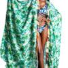 Mikoko Print Chiffon Beachwear Cover Up